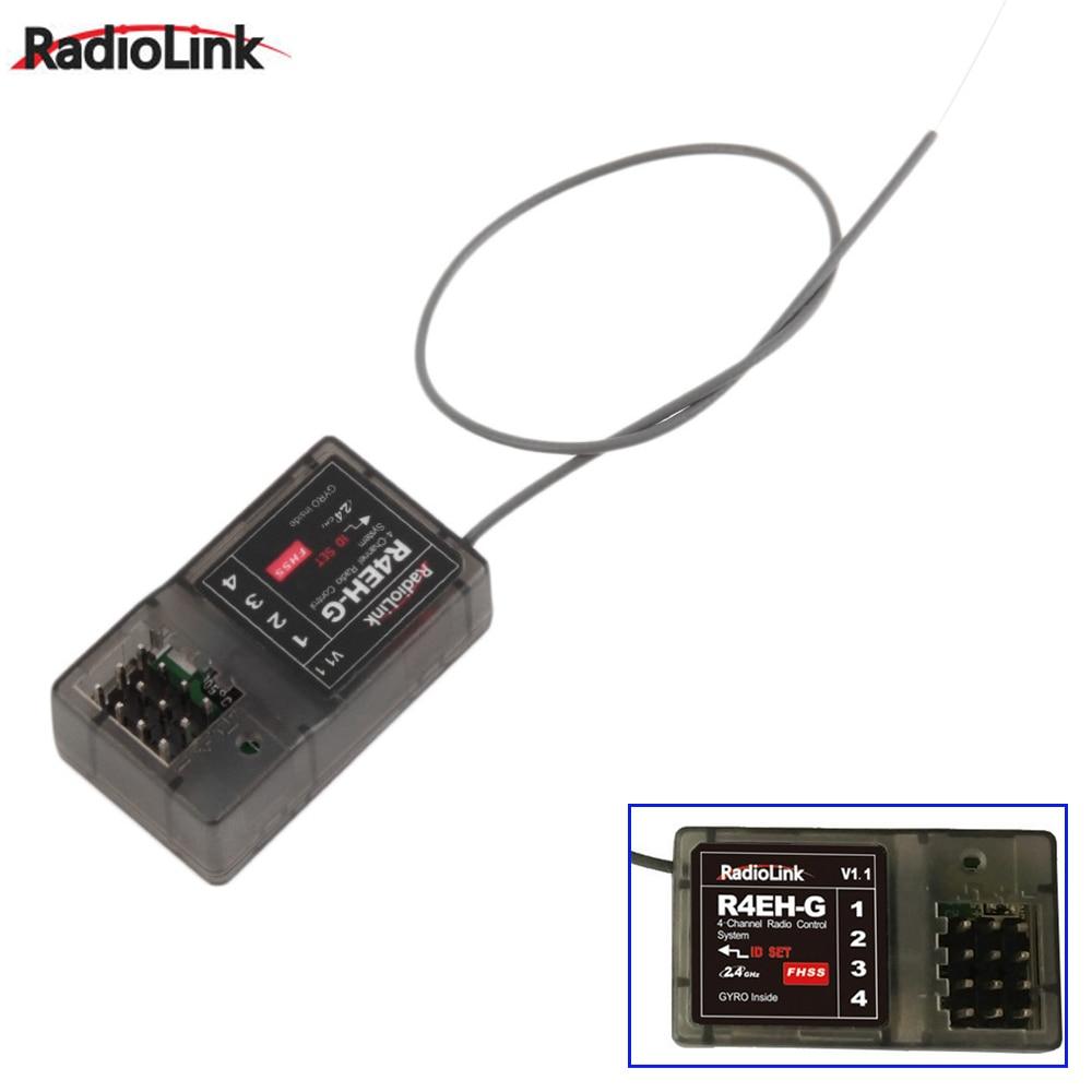 все цены на 1pcs Original R4EH-G 2.4G 4CH Receiver For Radiolink RC3S RC4G Transmitter RC Car Boat Wholesale онлайн