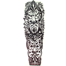 new sun large waterproof full arm  tattoo sticker Sleeve body art for men women fake tattoos paper paste sticker