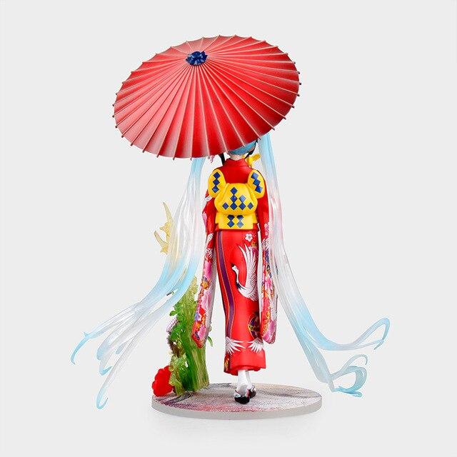 Аниме Фигурка Хацунэ Мику в кимоно 20 СМ 3