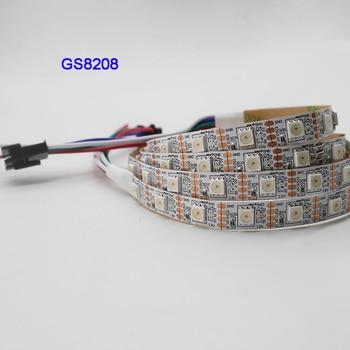 5m 30 48 60leds m 5050 smd rgb ws2811 smart pixel led strip addressable ws2811ic black white pcb 1m/3m/5m GS8208 smart pixel led strip 30/60/144 pixels/leds/m,WS2811 Updated,DC12V,IP30/IP65/IP67,Black/White PCB,5050 SMD RGB