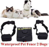 Waterproof Safety Pet Training Control Underground Electric Device Dog Fence Fencing System 2 Shock Collar