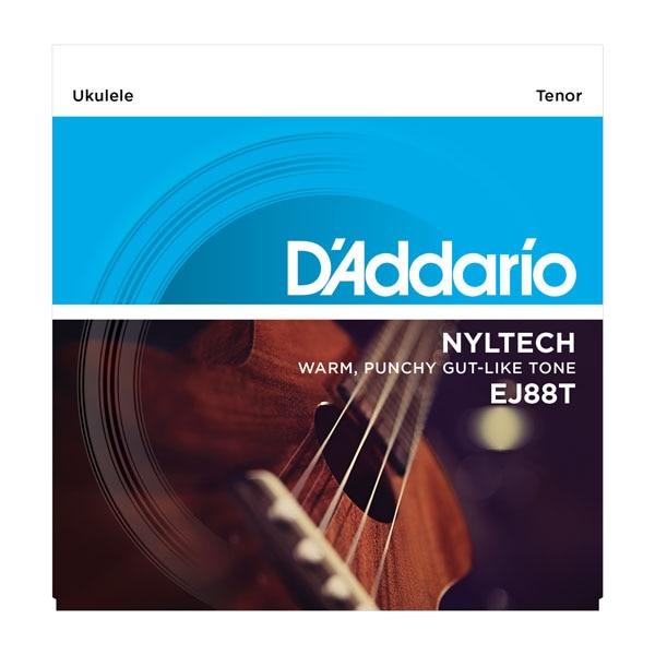 D'Addario Pro-Arte Nyltech Ukulele Dizləri EJ88T EJ88S EJ88C EJ88B
