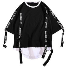 Harajuku Hip Hop T Shirt Men Fashions 2019 Tshirt Streetwear Casual Korean Short Sleeve T-Shirt Summer Tees Shirts