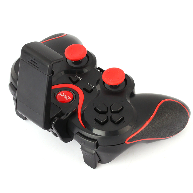 T3 Smart Phone Game Controller Wireless Bluetooth Gamepad Joystick With Phone Stand Holder for Android Smartphones Tablet PC (8)