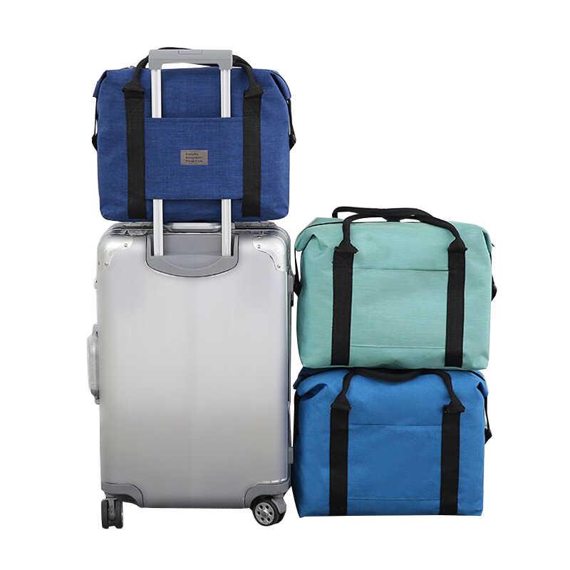 865edd7f431 Waterdichte Reizen Plunjezak Hoge Capaciteit Hand Carry Bagage Oxford  Weekend Handtas Reis Organizer Zakelijke Accessoires Supply
