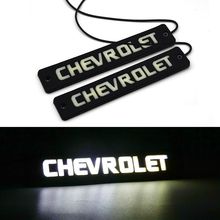 2x Car LED Silicone DRL Strip Waterproof Daytime Running Light 12V COB Automobile Medium Working Lamp Styling