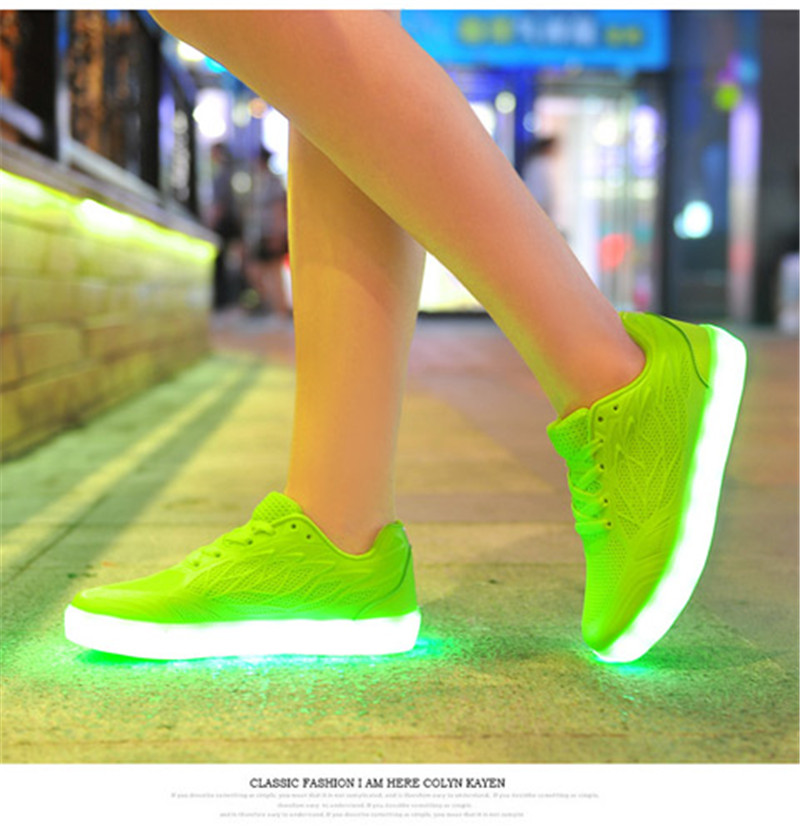 led shoes remote control APP bluetooth