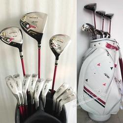 Nuevos palos de Golf para mujer Honma S-03 3 estrellas juego completo de palos de Golf + palos de madera + planchas de Golf de grafito eje y bolsa envío gratis