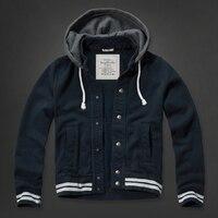 Для мужчин Брендовые толстовки куртка Большие размеры флис плюс бархат утолщаются весна осень Для мужчин Толстовка пальто куртки