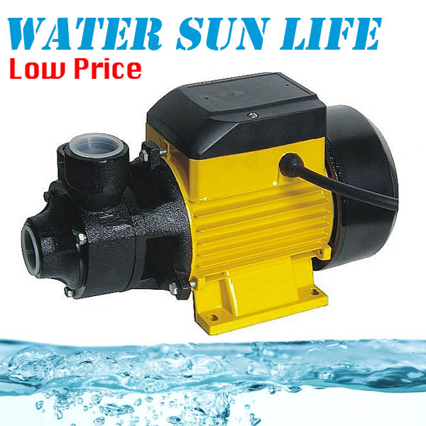 QB-60 Household Centrifugal Water Pump Cast iron Mirco Centrifugal Booster Pump cast iron self sucking centrifugal clean water pump deep well pump for home water supply irrigation garden watering pipeline