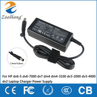 18.5 V Adattatore AC Per HP dv6-S dv6-7000 dv7 dm4 dm4-3100 dv3-2000 dv3-4000 dv2 Laptop Charger Power Supply
