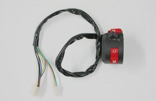 7 wire kill start light switch button housing for 110cc. Black Bedroom Furniture Sets. Home Design Ideas