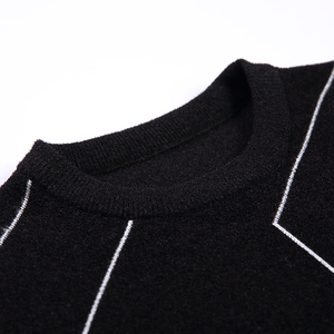 Image 4 - 2020 New Autumn Winter Fashion Brand Clothing Pullover Mens Sweaters O Neck Slim Fit Breathable Solid Color Sweaters For Men