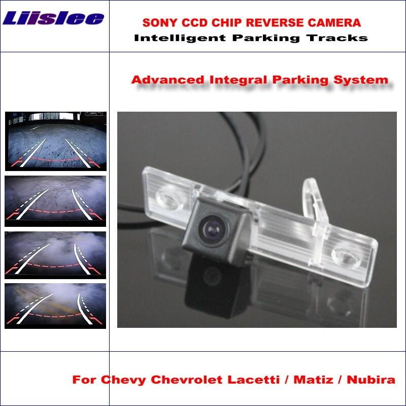 Caméra arrière intelligente Liislee de haute qualité pour Chevrolet Lacetti/Matiz/Nubira NTSC PAL RCA AUX HD SONY CCD