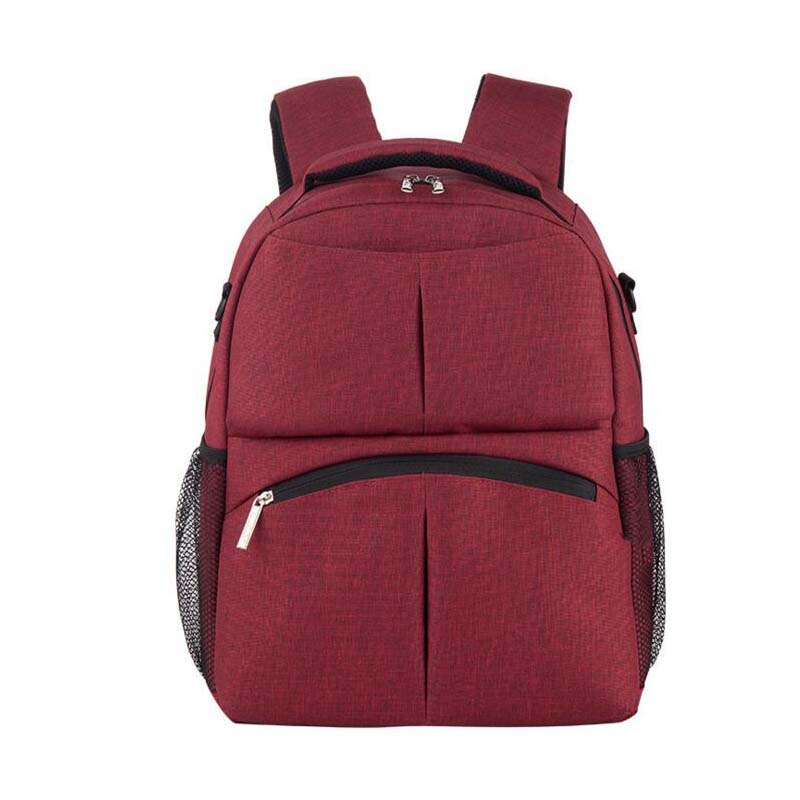 Cotton and linen multi function Mummy bag shoulders for sale bag backpack maternal and child supplies shoulder mother bag outdoo