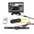 Set/Одной Продажи Стайлинга Автомобилей 7.0 дюймов TFT-LCD 2 Способ Видео вход Монитора Автомобиля и Долго Свет Водонепроницаемый Ночного Видения камера