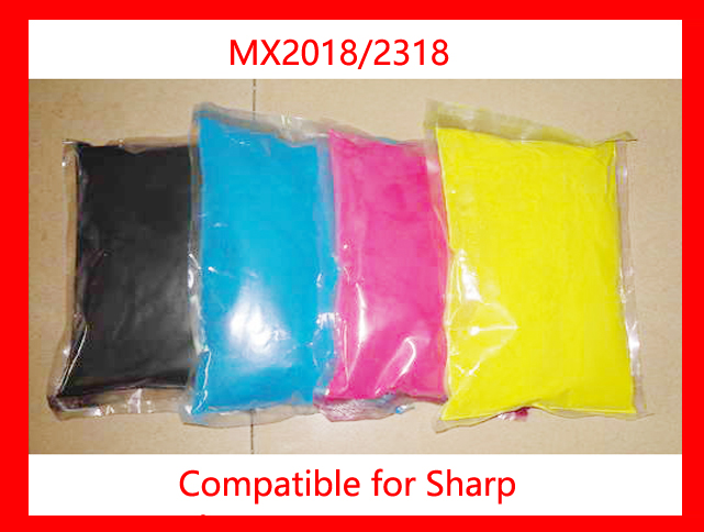 High quality color toner powder compatible for Sharp mx2018/2318/2018 Free shipping high quality color toner powder compatible for xerox dc12 c12 12 free shipping