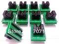 Adaptador TSSOP28 para DIP28 adaptador TL866A TL866CS programador TSSOP8 to DIP28 TSSOP20 TSSOP24 IC Socket Test adapter 0.65mm Pitch