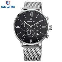 Zegarek męski SKONE biznesowy styl