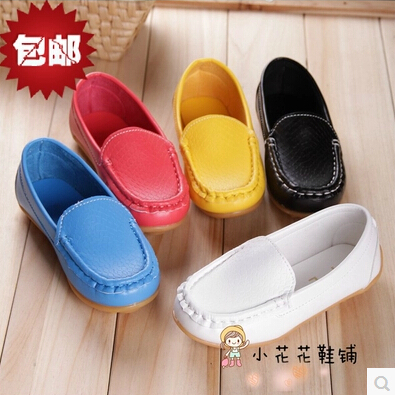Children Shoes Moccasins 2019 New Female Male Child Leather Child Single Shoes Baby Brand Casual Shoes Free Shipping Sneakers