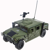 1:18 high quality Hummer H1 off road vehicle battlefield military model,alloy car model,simulation collection gift,free shipping
