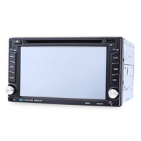 6202B 6.2 inch Bluetooth V3.0 Auto Radio Double Din Car DVD Player GPS Navigation In dash Stereo Video Map Mic Hands free Call