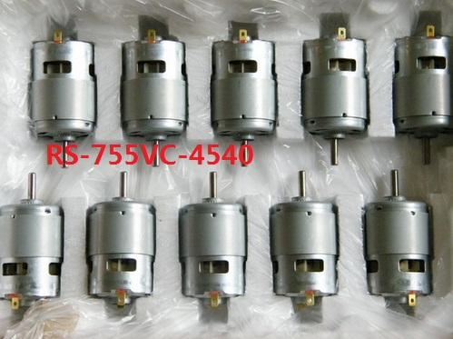 RS 755VC 4540 motor Industry Business Machinery DC Motor new 18V 30400 RPM speed motor