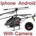 Envío gratis wl toys s215 3.5ch iphone ipad android remote control rc helicóptero quadcopter con cámara i-helicopter fswb