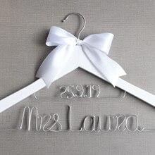 Персональная Свадебная Вешалка, подарки невесте, деревянная вешалка для свадебного платья, вешалка для платья невесты на заказ свадебный подарок