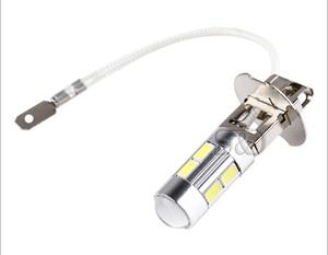 Image 2 - 2 個 H3 Led 電球車のライトハイパワーランプ 5630 Smd 昼間ランニング自動 Led 電球車のライト 12 V 6000 18K ホワイトイエローアンバー