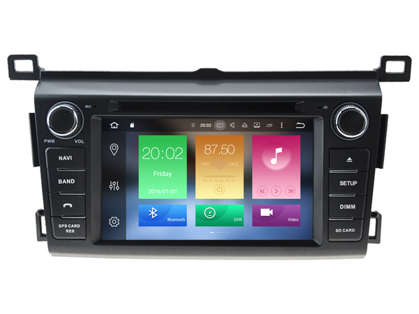 Octa 8 Core Android 6 0 font b CAR b font DVD player FOR TOYOTA TOYOTA