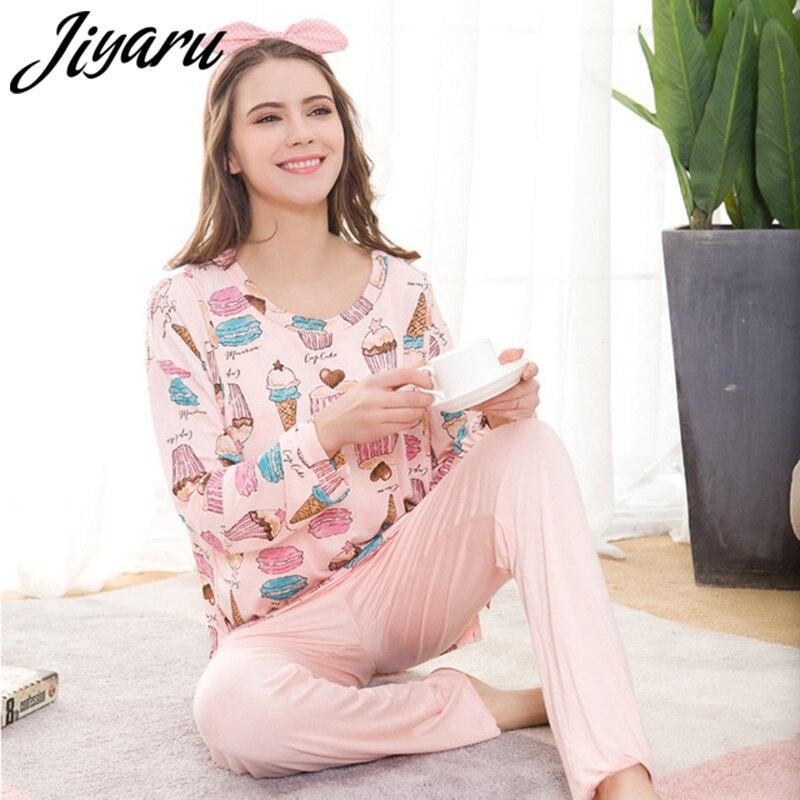 Maternity Pajama Set Maternity Sleepwear for Nursing Nightwear Long Sleeves Breast Feeding Nightwear Pregnancy Clothes for Mom