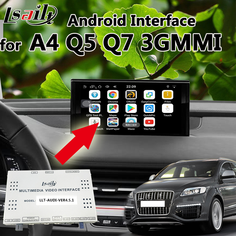 Android 6,0 GPS навигации коробка для AUDI 3g MMI Q7 A8 A6 с Mirrorlink, WI FI, навигации, онлайн карту, USB Dongle и т. д.