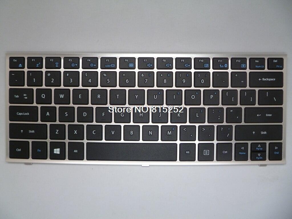 Laptop Keyboard For Gigabyte U2142 U21M U21MD YH-AZ12EA-5114P1-EU YH-AZ12ED43 YH-AZ12ED001 Arabia /Nordic/United States laptop keyboard for gigabyte m912 m912v m912x black fs farsi