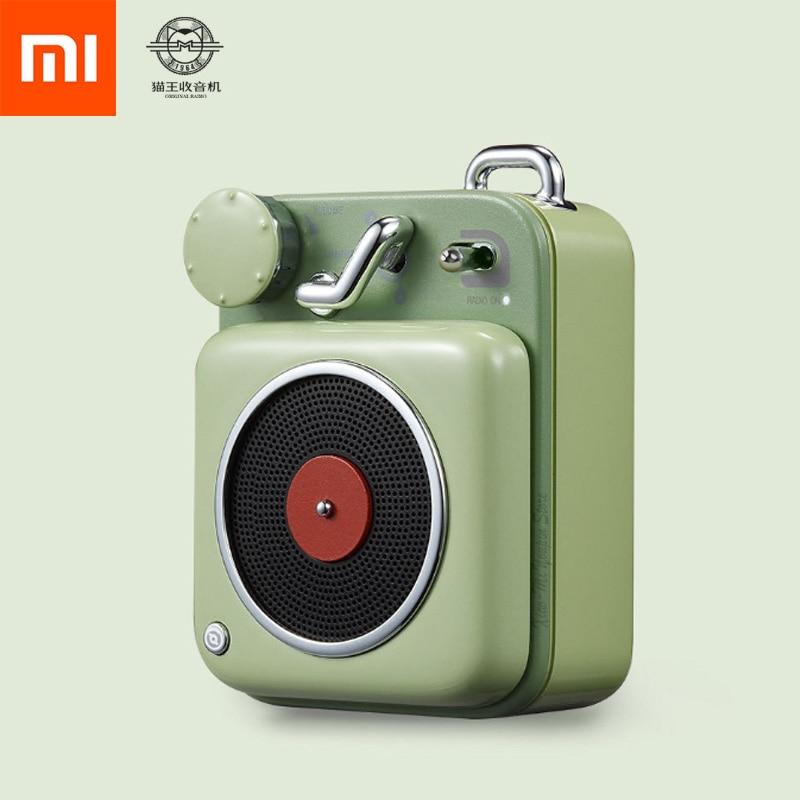 Nieuwe Xiaomi Mijia Cat Koning Atomic Mini Platenspeler B612 Aluminium Shell Bluetooth Intelligente Audio Draagbare Speaker