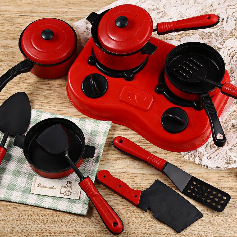 1221 11 шт. Кухня посуда притворяться, играть роль игрушки для детей