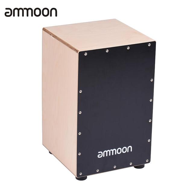 ammoon Wooden Cajon Box Drum Hand Drum Percussion Instrument Birch Wood with Adjustable Strings Carrying Bag  sc 1 st  AliExpress.com & ammoon Wooden Cajon Box Drum Hand Drum Percussion Instrument Birch ... Aboutintivar.Com