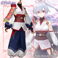 0aba3bd7685a3 Anime Cosplay Fate Grand Order FGO Tomoe Gozen Archer Inferno Cosplay  Costume Male Cos Party Uniforms