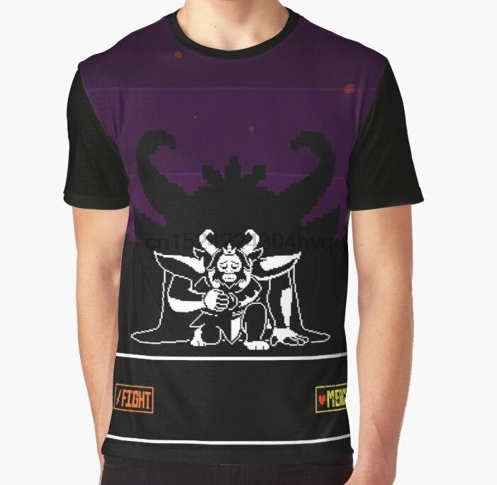 All Over Print 3D Women T Shirt Men Funny tshirt Undertale Asgore Graphic  T-Shirt