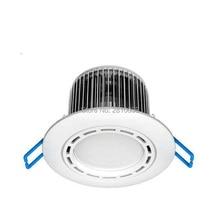 4X1 piezas/lote Led abajo luz ip44 luces Led 240 V y downlight LED regulable led luz descendente 220 V para decoración del hogar