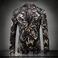 Palacio y la figura de impresión de europa y américa del estilo de moda blazer hombres veste homme hombres ropa de la boda vestido de chaqueta para hombre/XF40-6