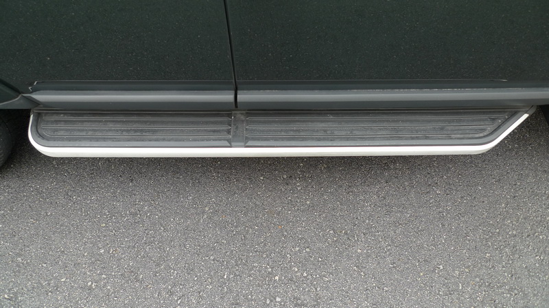 Car Running Board Side Step Nerf Bars For Land Rover Discovery 4 Doors 2011 2012 2013 [QP03] ...