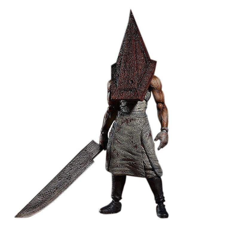 Figma SP055 Silent Hill 2 Red Pyramd Thing PVC Action Figure Collectible Model Toy 15cm KT3161 shfiguarts batman injustice ver pvc action figure collectible model toy 16cm kt1840