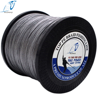 AZJ New Braid Line 1000M 8 Strands Super Strong Multifilament PE Braided Fishing Line for Sea Fishing 12 200LB Lake River