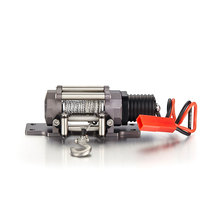 Full Metal Emulation Winch With Single Motor For RC Crawler Truck