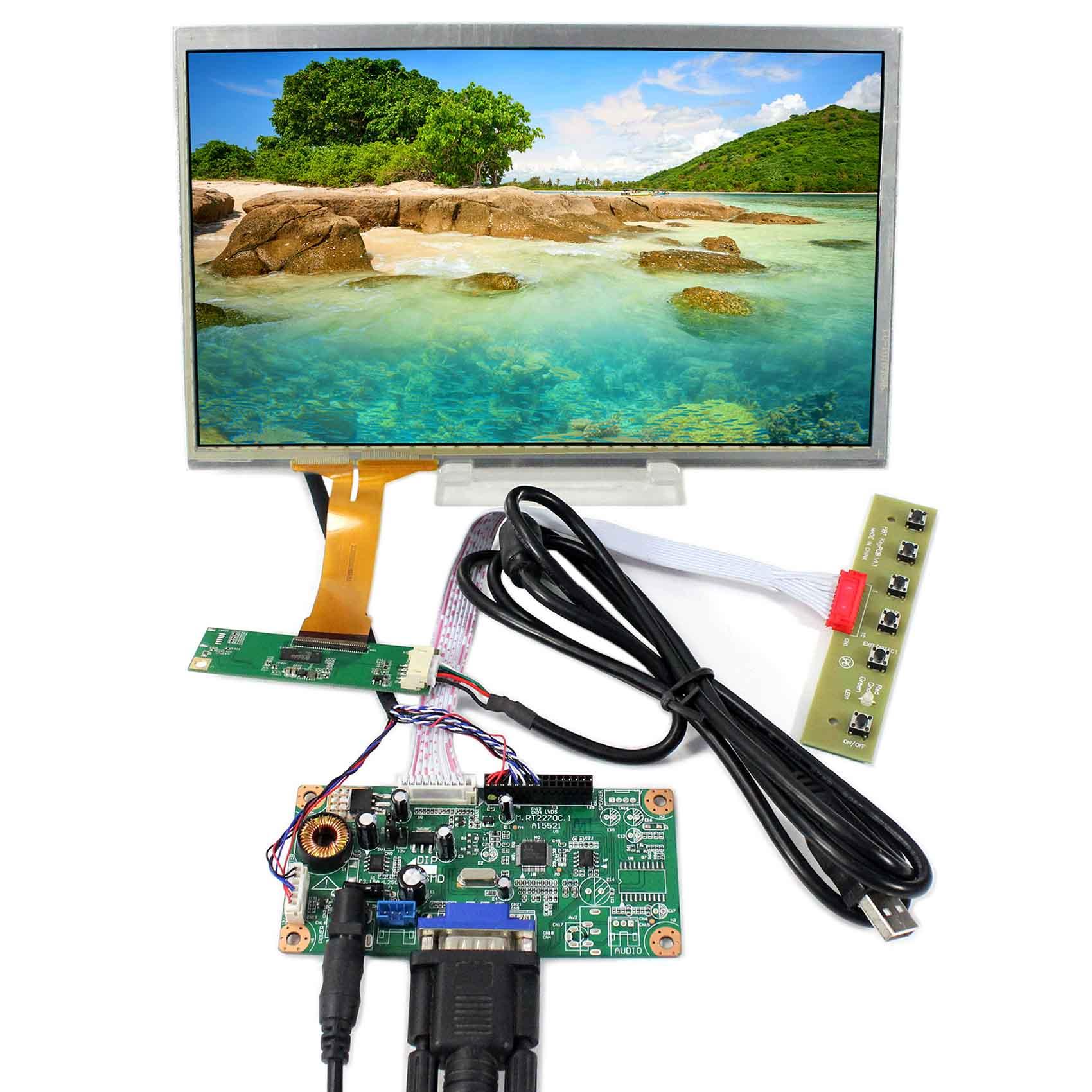 VS101TC01-C1 1366X768 Resolution 10.1inch LCD Screen  VGA LCD Controller BoardVS101TC01-C1 1366X768 Resolution 10.1inch LCD Screen  VGA LCD Controller Board