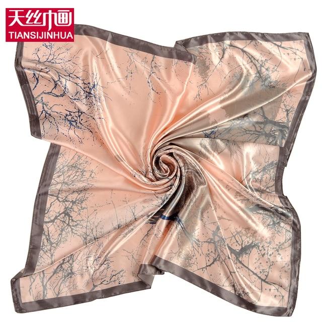 2018 grande taille carr de soie charpe femmes foulard imprimer foulard marque de luxe de fleur. Black Bedroom Furniture Sets. Home Design Ideas