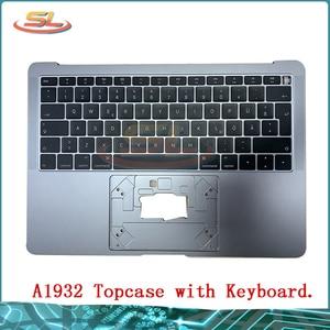 A1932 верхний чехол с клавиатурой верхний чехол серый для MacBook Pro Retina 13