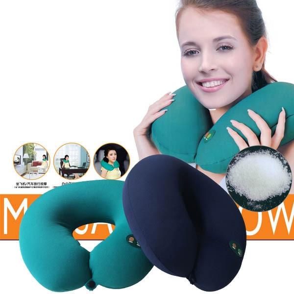 Car Neck Massager magnet magnetic Electric Nap Pillow Traction Massage U Shape Pillow Relief Neck Back Shoulder Pain Massager массажный шарф nap massage wrap