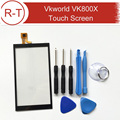 Vkworld VK800X Сенсорный Экран Замена Ремонт Часть + Инструменты 100% Новый Оригинальный Стеклянная Панель для VKworld VK800X Бесплатная Доставка